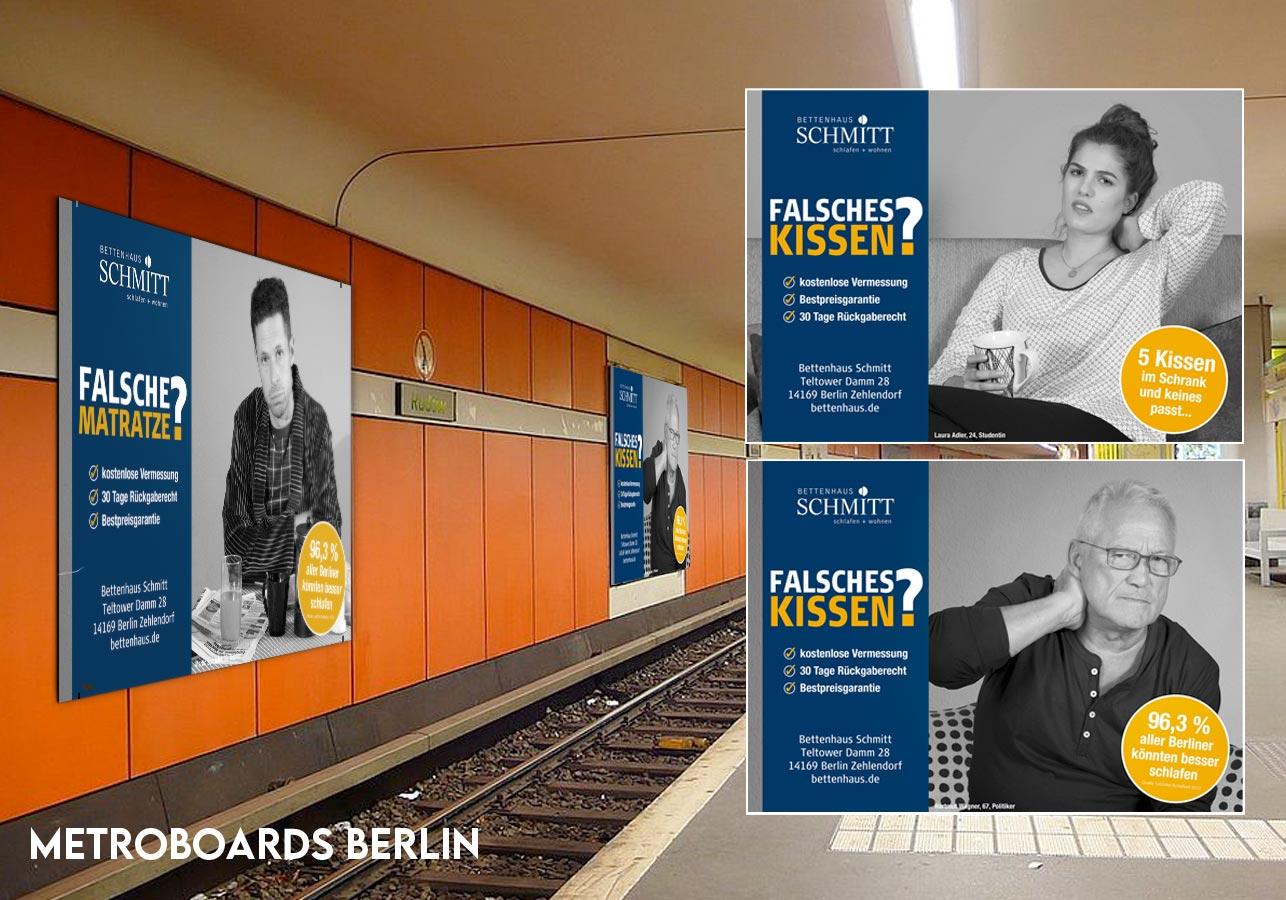 U-Bahn Werbung