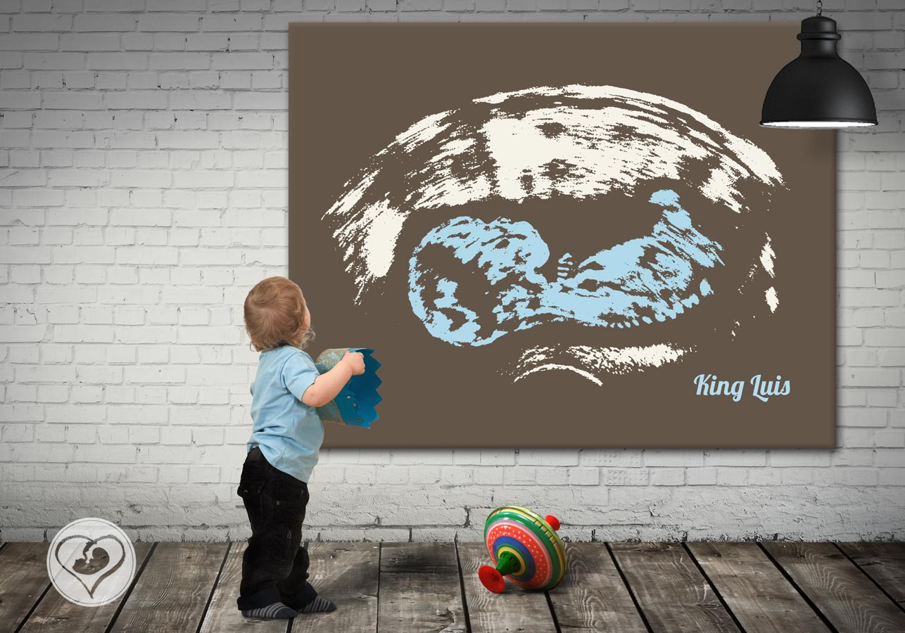 Wandbilder Baby